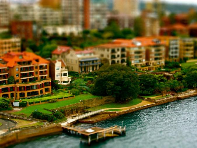 Tiltshifted Sydney