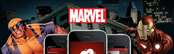 Marvel comics on iPhone: Panelfly